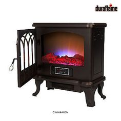 Duraflame Electric Fireplace - Assorted Colors Duraflame Electric Fireplace, Bedroom Vintage, Vintage Farmhouse, Home Appliances, Wood, Daily Deals, Tiny Houses, Colors, Basement