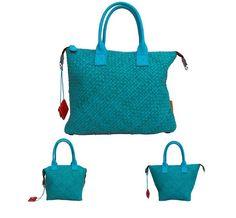 Turkoosia nahkaa kevääseen! Italialaissuunnittelijoiden luoma erikoisuus on GABSin muunneltavuus eri käyttötarpeisiin. Tässä yksi laukku muuntuu kolmeksi!