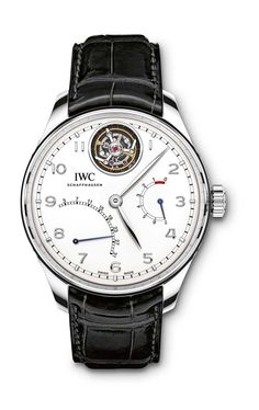 IWC Portugieser Tourbillon Mystère Rétrograde - Ref. IW504601 - Discover more on http://www.iwc.com/en/collection/portugieser/IW5046/