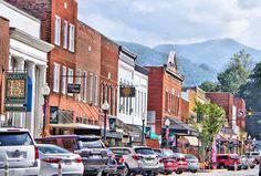 Small Towns near Asheville