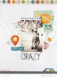crazy // here+there by gluestickgirl at Studio Calico
