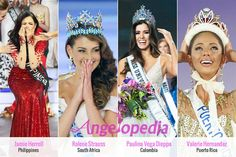 Winning reactions at Big 4 beauty pageants!