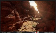 Hey all, I updated my website and finally got some of the work I did for Uncharted 3 Drakes Deception up there. Desert Environment, Game Environment, Environment Concept, Environment Design, Polygon Modeling, Zombie Art, 3d Max, 2d Art, Environmental Art