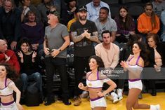 Singer Adam Levine attends a basketball game between the Los Angeles Lakers and the New York Knicks at Staples Center on January 21, 2018 in Los Angeles, California.