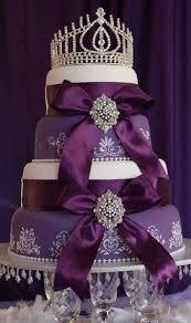 Южные Синие праздников: Фиолетовый свадебный торт Идеи