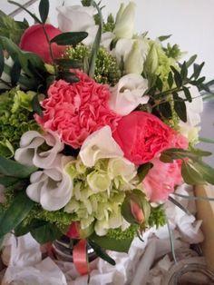 Fleurs mariage couleur ... corail