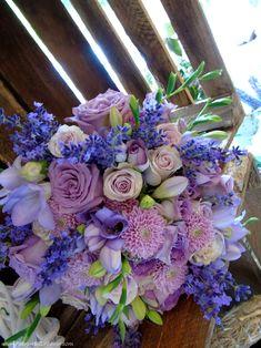 purple blue wedding bouquet Blue Purple Wedding, Wedding Bouquets, Floral Wreath, Wreaths, Flowers, Decor, Flower Crowns, Wedding Brooch Bouquets, Door Wreaths