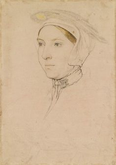 An unidentified woman, c.1532-43, by Hans Holbein the Younger