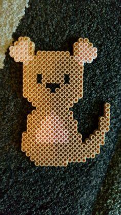 Kanga from Winnie the Pooh perler bead