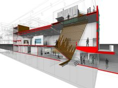 Image 13 of 26 from gallery of Arthouse at the Jones Center / LTL Architects. section