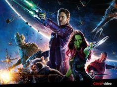 """Quem adora os filmes da Marvel, não pode ficar fora dessa! Assista """"Guardiões da galáxia"""":"""
