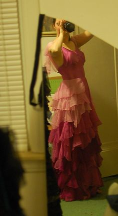 Hermione Granger Yule Ball Dress Gown Replica Costume by tavariel