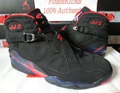 new style 6b198 a3a7e Air Jordan VIII - Joe Johnson Atlanta Hawks Away PE - SneakerNews.com