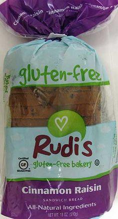 Rudi's Cinnamon Raisin Gluten-Free Bread