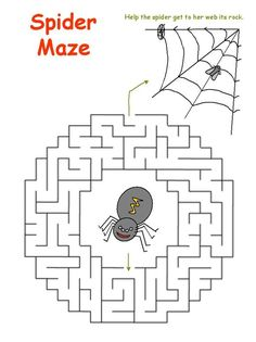 The best places for free printable mazes for kids of all ages who love a good puzzle. Choose from thousands of easy, medium, and hard printable mazes. Halloween Worksheets, Halloween Activities, Preschool Activities, Airplane Activities, Halloween Maze, Halloween Kids, Halloween Crafts, Mazes For Kids Printable, Free Printables