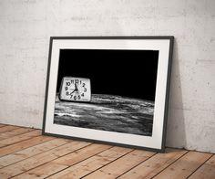 Old Clock Print, Abstract Art Print, Home Decor, Modern Decor, Wall Art, Wall Decor, Photo, Print, Poster Print, Printable Instant download