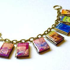 Harry Potter Series Book Bracelet/Literary by CraftingCall on Etsy