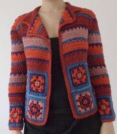 Letras e Artes da Lalá: Blusas e coletes de crochê (lã) - Fotos: google (sem receitas)