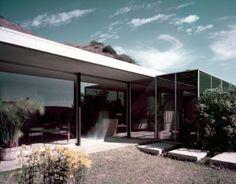 Raphael Soriano y el Mid-Century modern, casa Shulman. 1950
