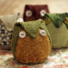 Funky Japanese Owl Softee - Check out coolcrafting.co.uk