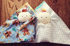 Swaddle Baby Tutorial  Good for Operation Christmas Child shoe boxes