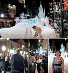Walt Disney Frozen Red Carpet World Premiere #DisneyFrozenEvent #celebrities