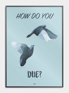 How_do_you_due sjov plakat