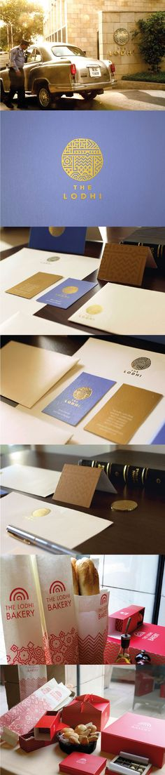 The Lodhi. A hotel with almost 600 years of history. Identity Design, Logo Design, Ci Design, Graphic Design, Visual Identity, Brand Identity, Brand Packaging, Packaging Design, Build Your Brand