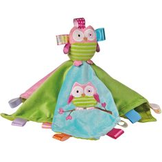 Taggies snuggler | OOdles owl blanket