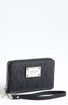 MICHAEL Michael Kors 'Signature' Phone Wristlet available at #Nordstrom