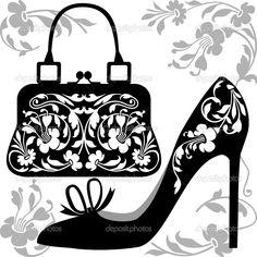 concepto de moda - Ilustración de stock: 4596457
