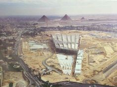 Behold the New Grand Egyptian Museum  The largest Egyptian museum the largest museum in the world. expected to open later this year in 2018. A museum worthy of our Egyptian civilization displays 100000 archaeological pieces of Pharaonic Greek and Roman civilization.  The news is coming up and we are so excited that the project is finally coming to an end.  Aerial View of the Grand Egyptian Museum  Photos have started to emerge on social media about the completion of the project. Especially…