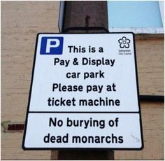 The city of Leicester, England now wants you to know that it doesn't want anymore dead monarchs showing up under its parking lots. Richard III you scamp!  -  Found by Meg, via:  iheartchaos | Tumblr