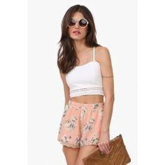 Subtle Garden Shorts