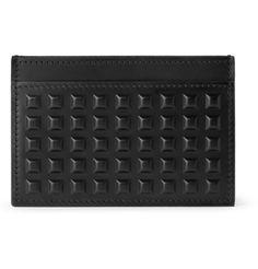 BalenciagaStudded Leather Card Holder