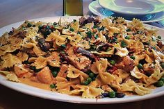 The Cheesecake Factory: Farfalle With Chicken and Roasted Garlic: Don't let looks deceive you: This seemingly reasonable pasta dish is packed with saturated fat, courtesy of the creamy, cheesy garlic sauce. Calories:2,410  Saturated fat:63 grams  Sodium:1,370 milligrams (Photo: The Cheesecake Factory/Facebook)