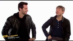 MAX 60 Seconds: Richard Armitage and Martin Freeman (I could listen to these two talk all day.)