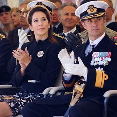 Prince Frederik and Princess Mary attended the wreath-laying ceremony