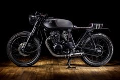 Yamaha XS400 Dark Bullet by Macco Motors 1