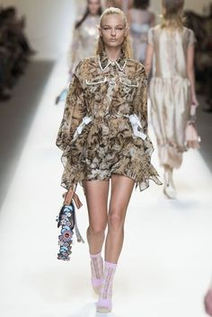 Fendi Spring/Summer 2017 Ready To Wear Collection   British Vogue
