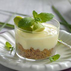 Mousse Dessert, Pie Dessert, Healthy Dessert Recipes, Raw Food Recipes, Spaghetti Eis Dessert, Just Bake, Key Lime Pie, Pavlova, Frozen Yogurt