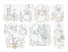 Instant Download Machine Embroidery Christmas by JanettesDesigns