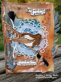 A blog about paper crafts and rubber stamping. Challenges, inspiration, tutorials.