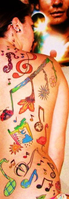 #music note #tattoo