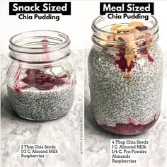 Fitonomy Kitchen on Snack-Sized vs Meal-Sized . I love enjoying a good chia pudding as a meal OR a snack. Its important to look at the components that go Healthy Meal Prep, Healthy Snacks, Healthy Eating, Healthy Recipes, Keto Chia Seed Recipes, Chia Seed Recipes For Weight Loss, Keto Recipes, Dinner Recipes, Diet Snacks