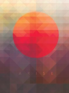 // Arise by Maria Grønlund, via Behance
