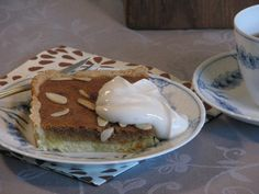 Gluten- og laktosefri appelsintærte