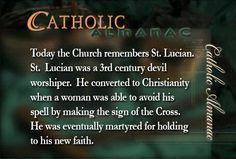 #SaintLucian #martyr #prayforus