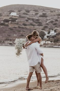 Ios Lovers – A Romantically Simple Elopement Inspiration Elopement Inspiration, Boho Bride, Ios, Lovers, Couple Photos, Couples, Simple, Couple Shots, Couple Photography