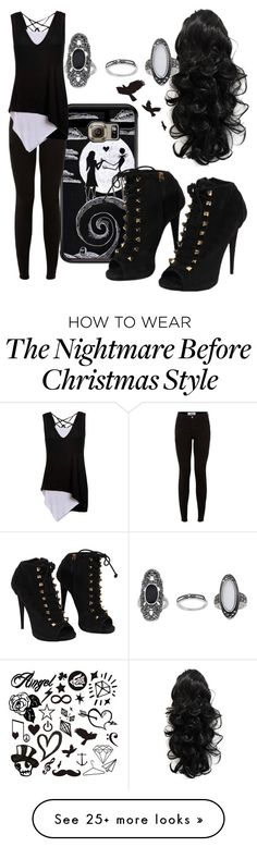 """Having Problems"" by thatonefabulouspotato on Polyvore featuring Samsung, Giuseppe Zanotti and Topshop"